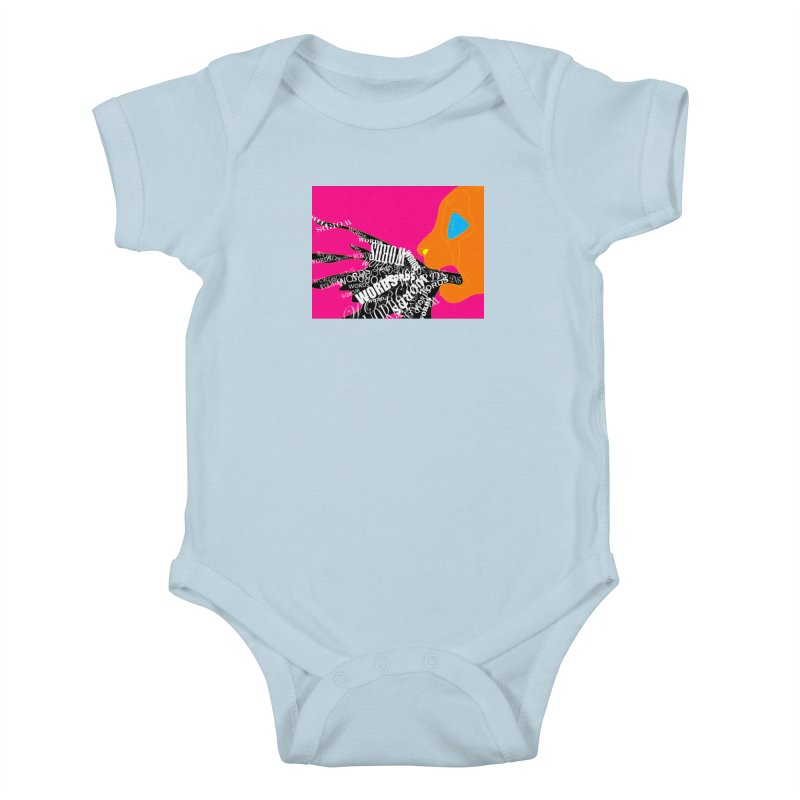 Pressured Speech Kids Baby Bodysuit by farorenightclaw's Shop