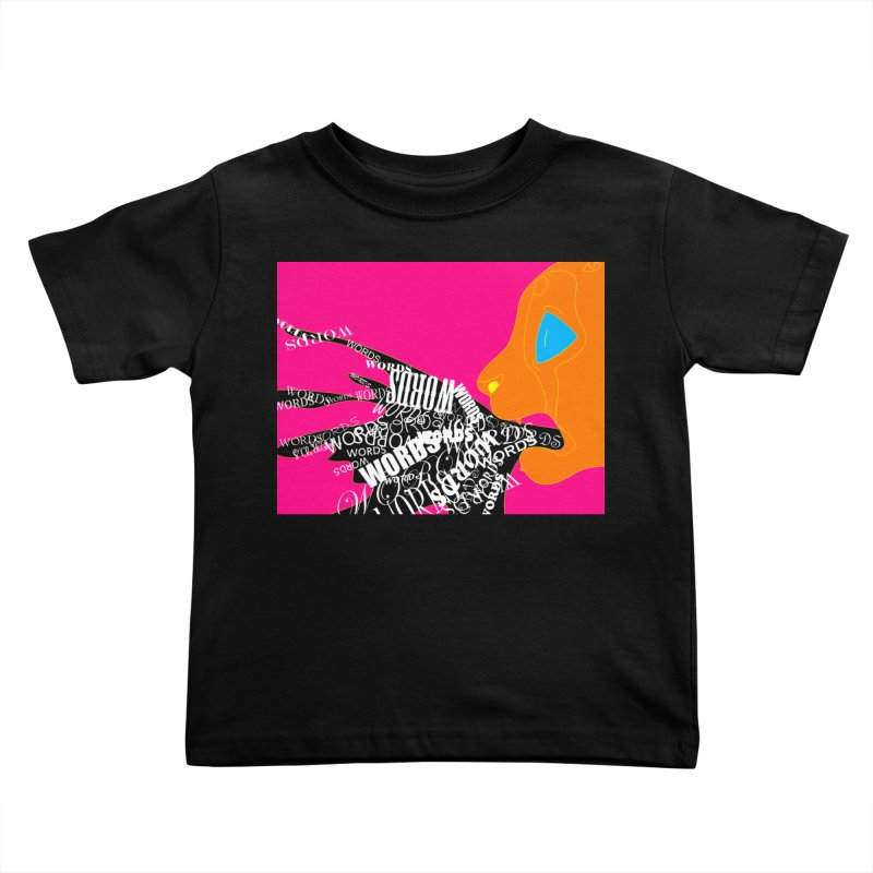 Pressured Speech Kids Toddler T-Shirt by farorenightclaw's Shop