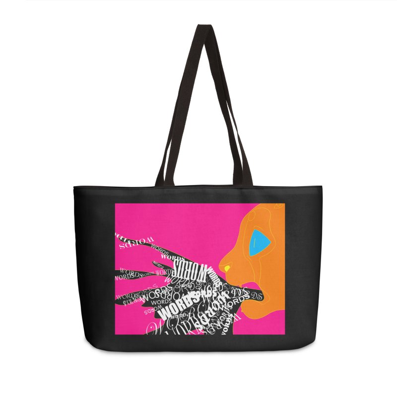 Pressured Speech Accessories Weekender Bag Bag by farorenightclaw's Shop