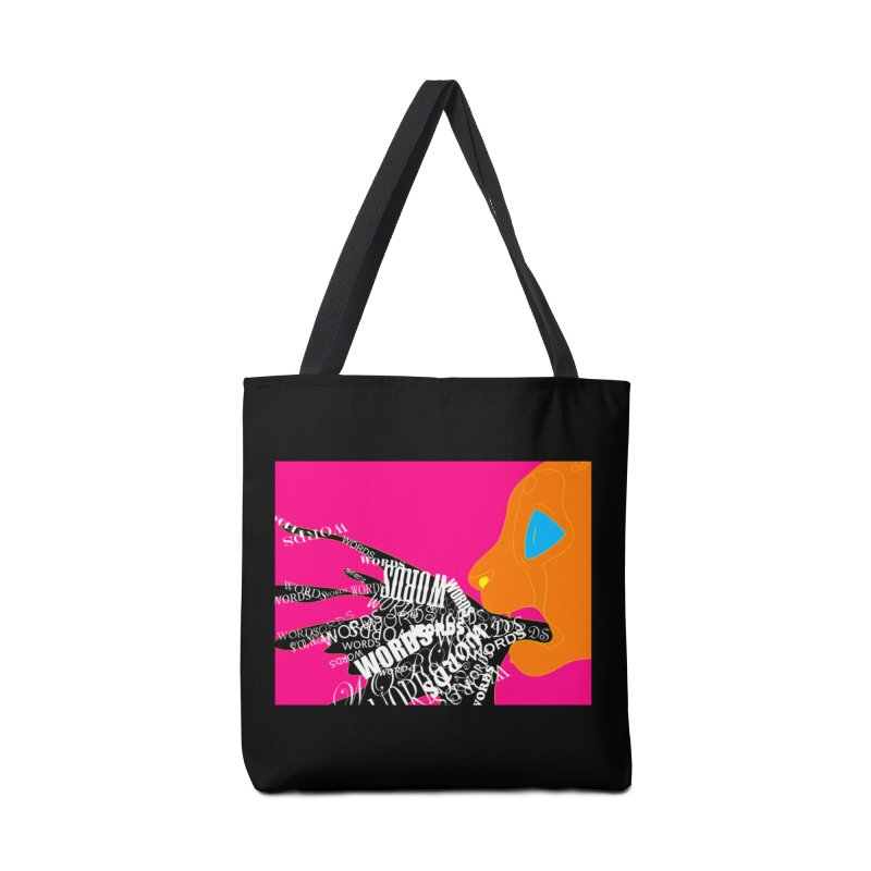 Pressured Speech Accessories Tote Bag Bag by farorenightclaw's Shop