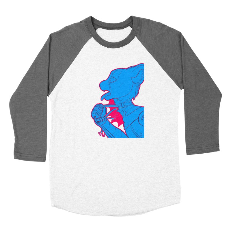 Don't Speak Men's Baseball Triblend Longsleeve T-Shirt by farorenightclaw's Shop