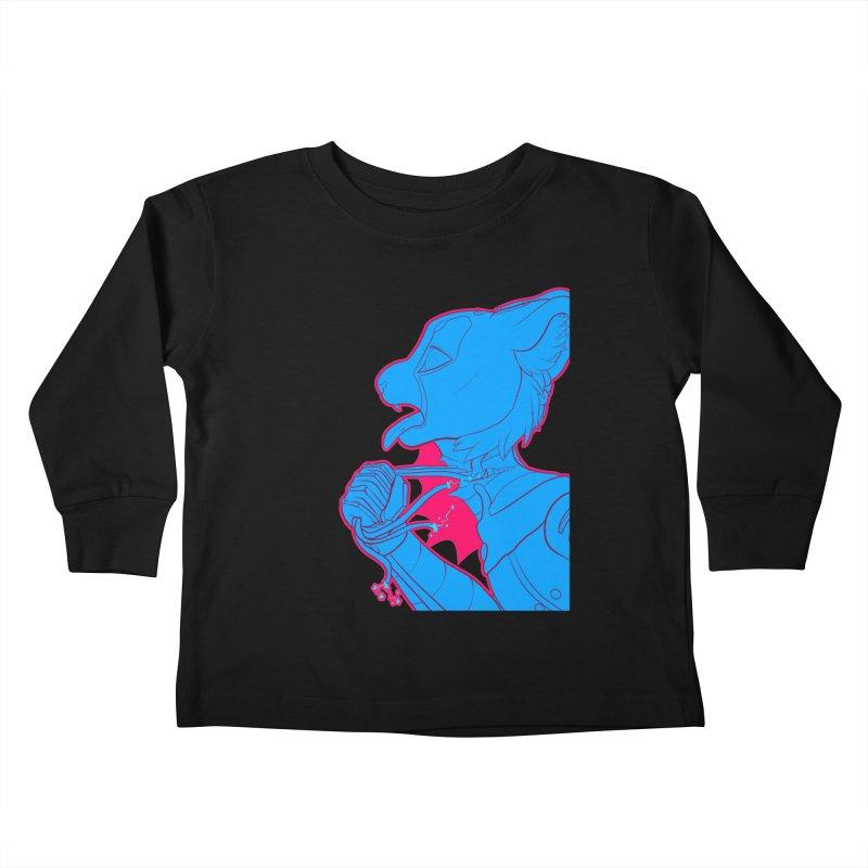 Don't Speak Kids Toddler Longsleeve T-Shirt by farorenightclaw's Shop