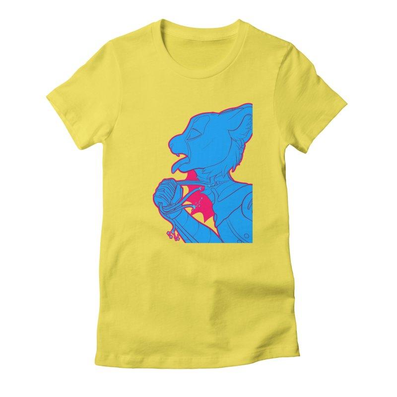 Don't Speak Women's Fitted T-Shirt by farorenightclaw's Shop