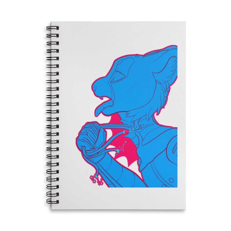 Don't Speak Accessories Lined Spiral Notebook by farorenightclaw's Shop