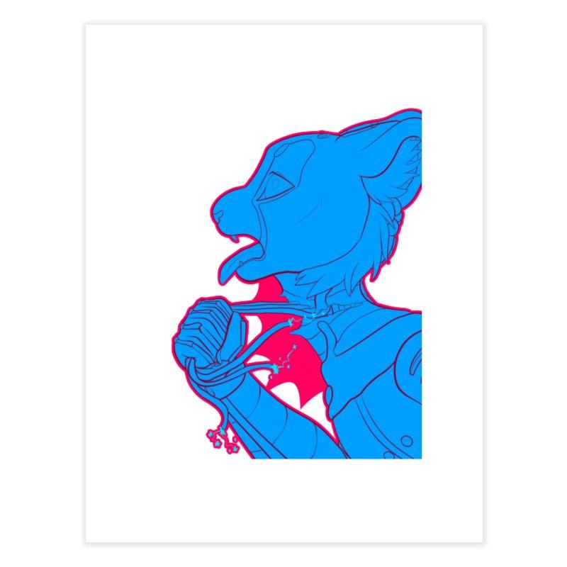 Don't Speak Home Fine Art Print by farorenightclaw's Shop