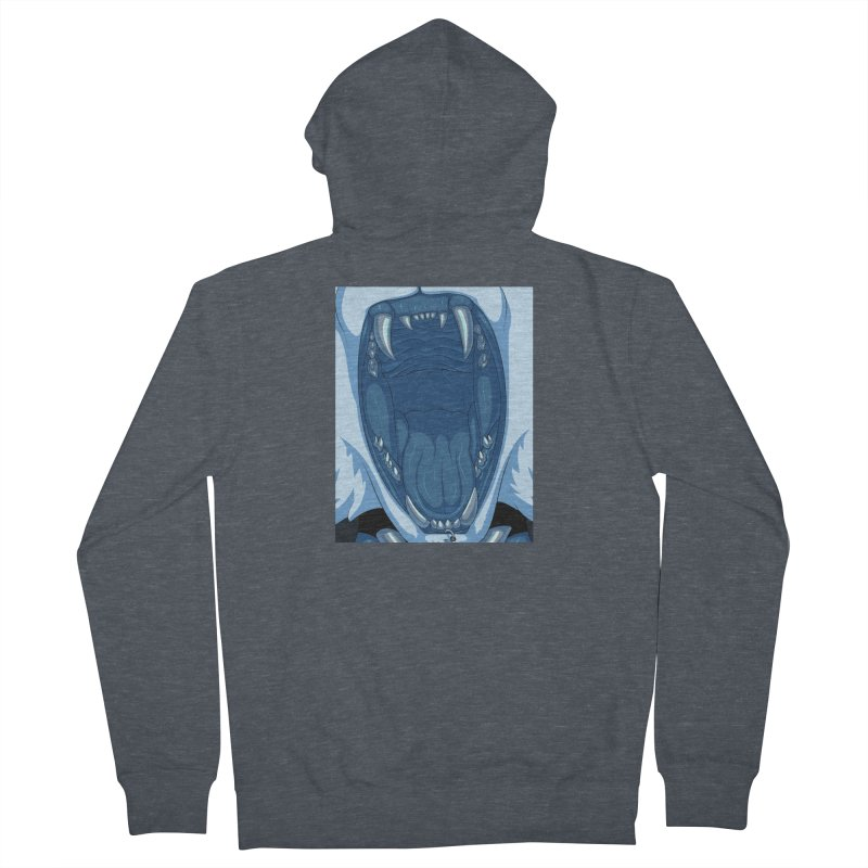 Maw Men's French Terry Zip-Up Hoody by farorenightclaw's Shop