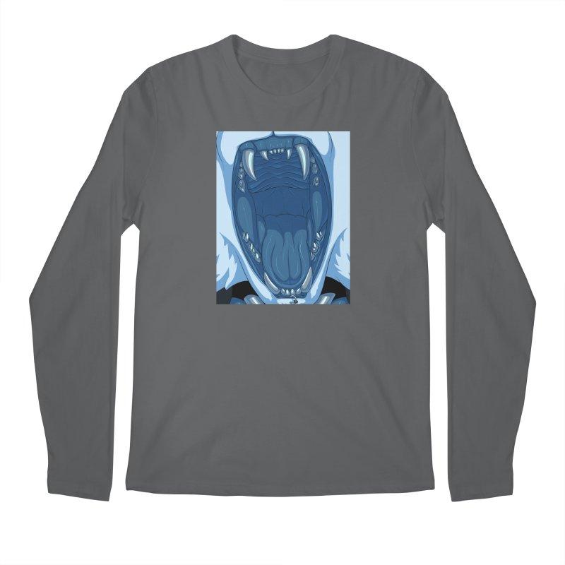 Maw Men's Longsleeve T-Shirt by farorenightclaw's Shop