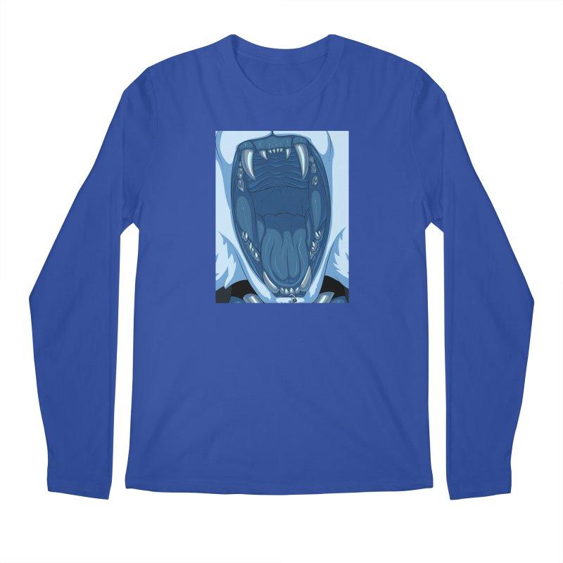 Maw Men's Regular Longsleeve T-Shirt by farorenightclaw's Shop