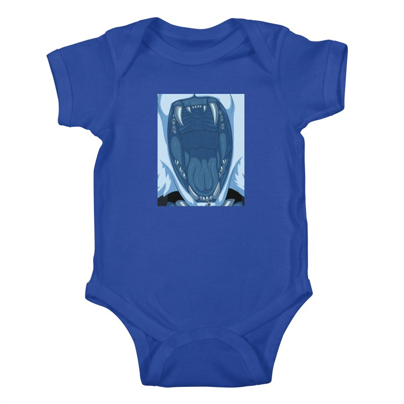 Maw Kids Baby Bodysuit by farorenightclaw's Shop