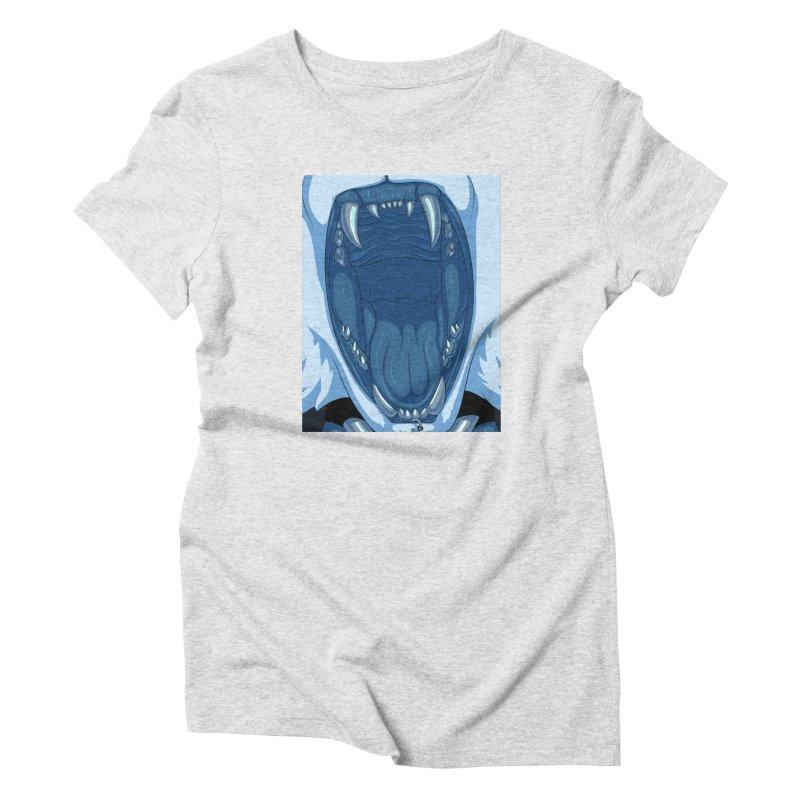 Maw Women's T-Shirt by farorenightclaw's Shop