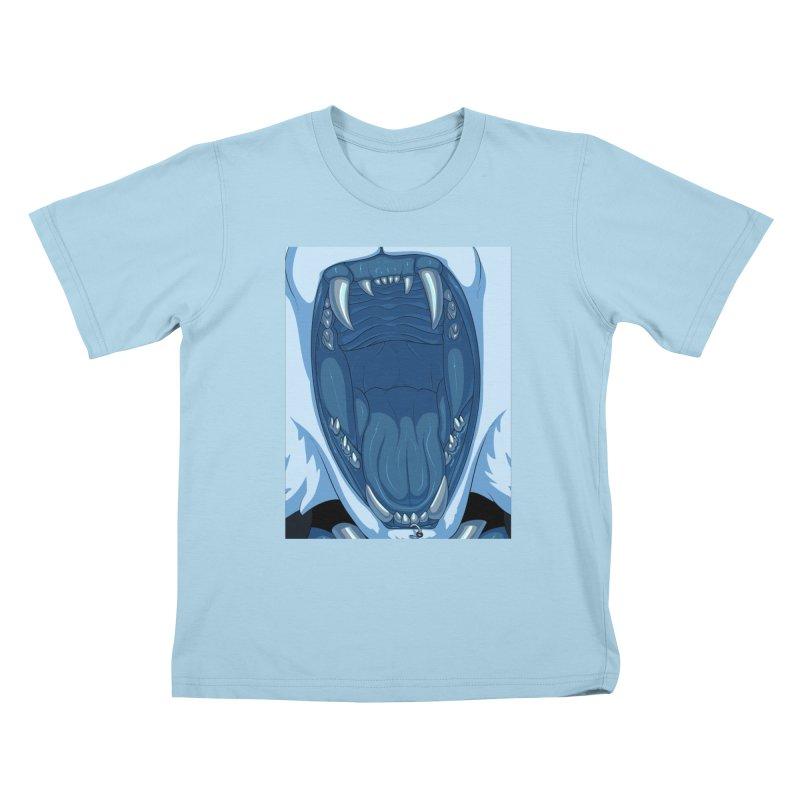 Maw Kids T-Shirt by farorenightclaw's Shop