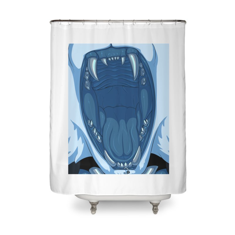 Maw Home Shower Curtain by farorenightclaw's Shop