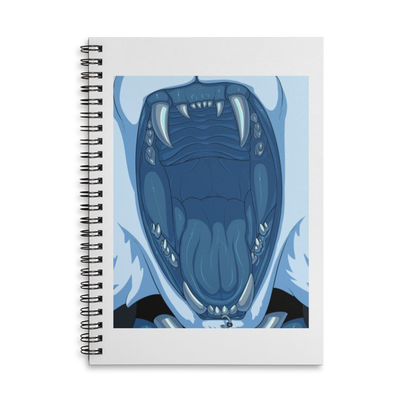 Maw Accessories Lined Spiral Notebook by farorenightclaw's Shop
