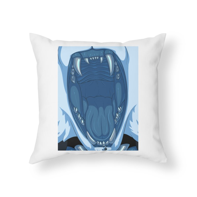 Maw Home Throw Pillow by farorenightclaw's Shop