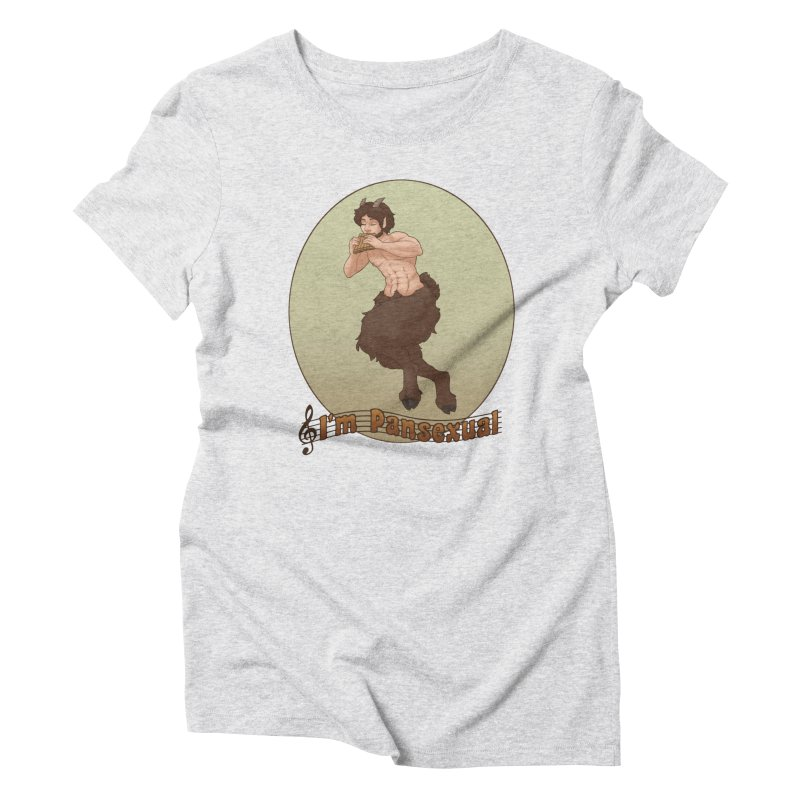 Pansexual Women's T-Shirt by farorenightclaw's Shop