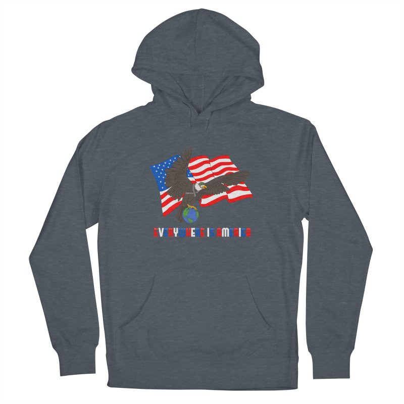 EVERYWHERE IS AMERICA Women's Pullover Hoody by farorenightclaw's Shop
