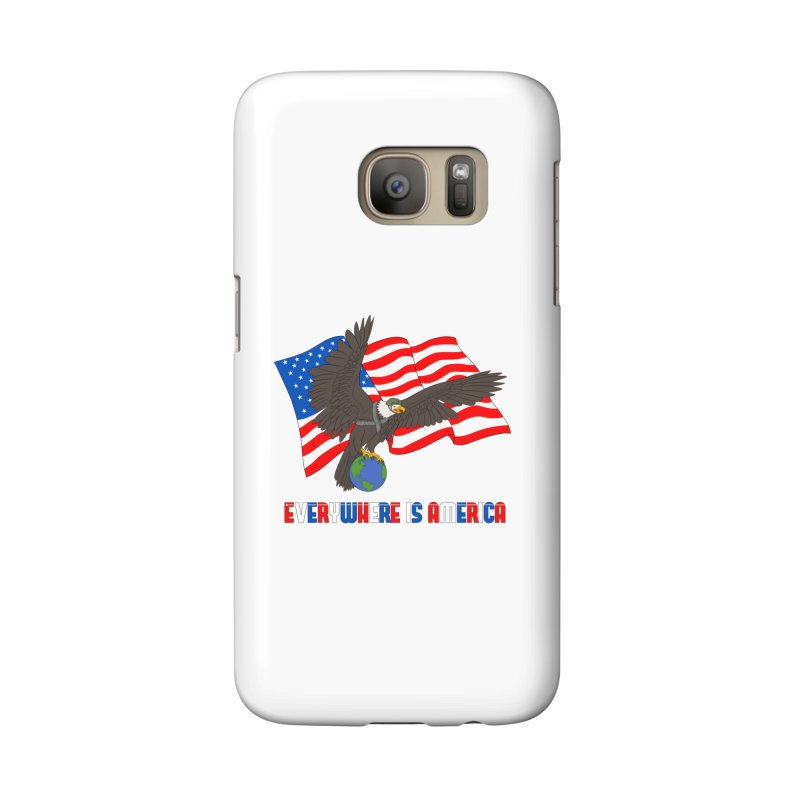 EVERYWHERE IS AMERICA Accessories Phone Case by farorenightclaw's Shop