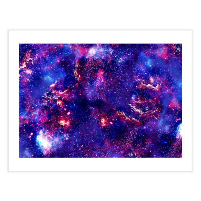 Warp Speed Home Fine Art Print by Far Out Sky - A Popular Ventures Company