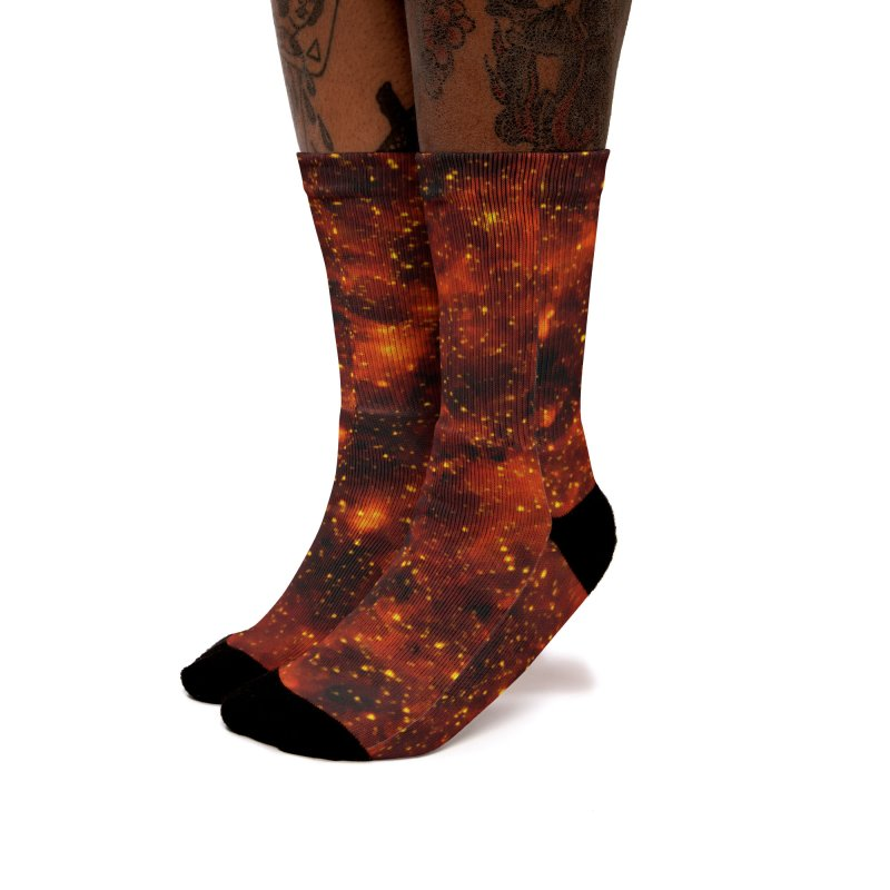 Tiger Eye Women's Socks by Far Out Sky - A Popular Ventures Company