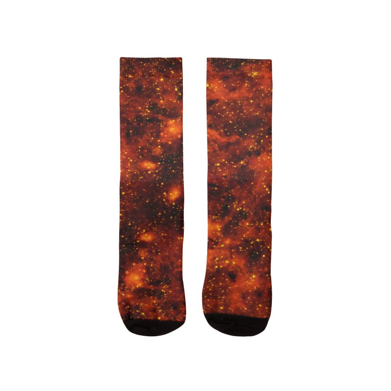 Tiger Eye Women's Socks by Far Out Sky - Space For Your Space