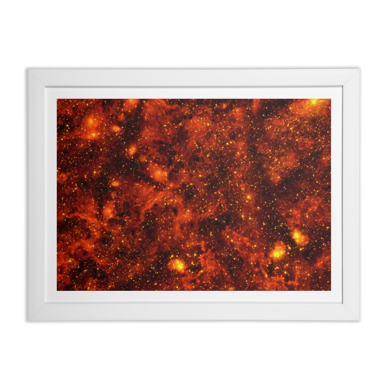 Tiger Eye Home Framed Fine Art Print by Far Out Sky - A Popular Ventures Company