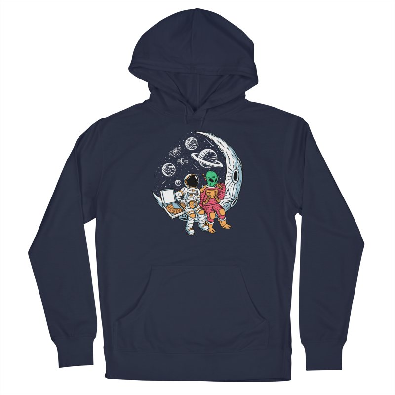 Pizza Party In Space Men's Pullover Hoody by Far Out Sky - A Popular Ventures Company