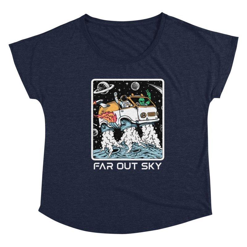 Women's None by Far Out Sky - A Popular Ventures Company