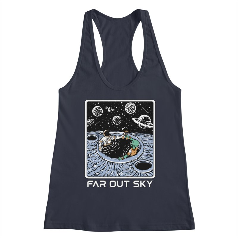 Women's None by Far Out Sky - Space For Your Space