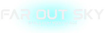 Far Out Sky - Space For Your Space Logo