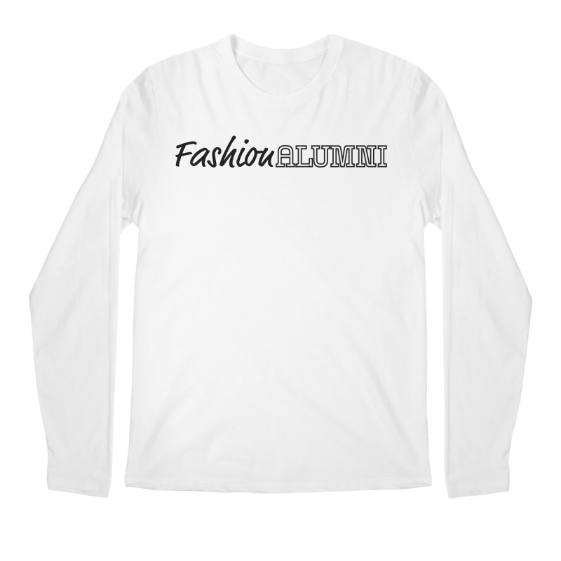 Choose Black Logo Design Men's Regular Longsleeve T-Shirt by Fashion Alumni's Artist Shop