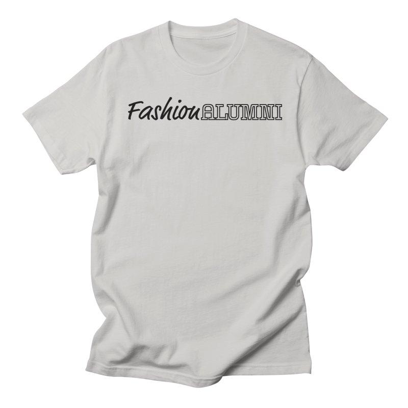 Choose Black Logo Design Men's Regular T-Shirt by Fashion Alumni's Artist Shop