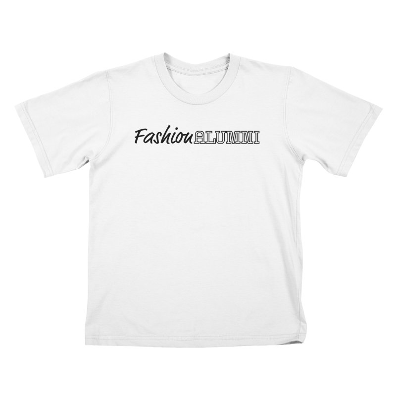Choose Black Logo Design Kids T-Shirt by Fashion Alumni's Artist Shop