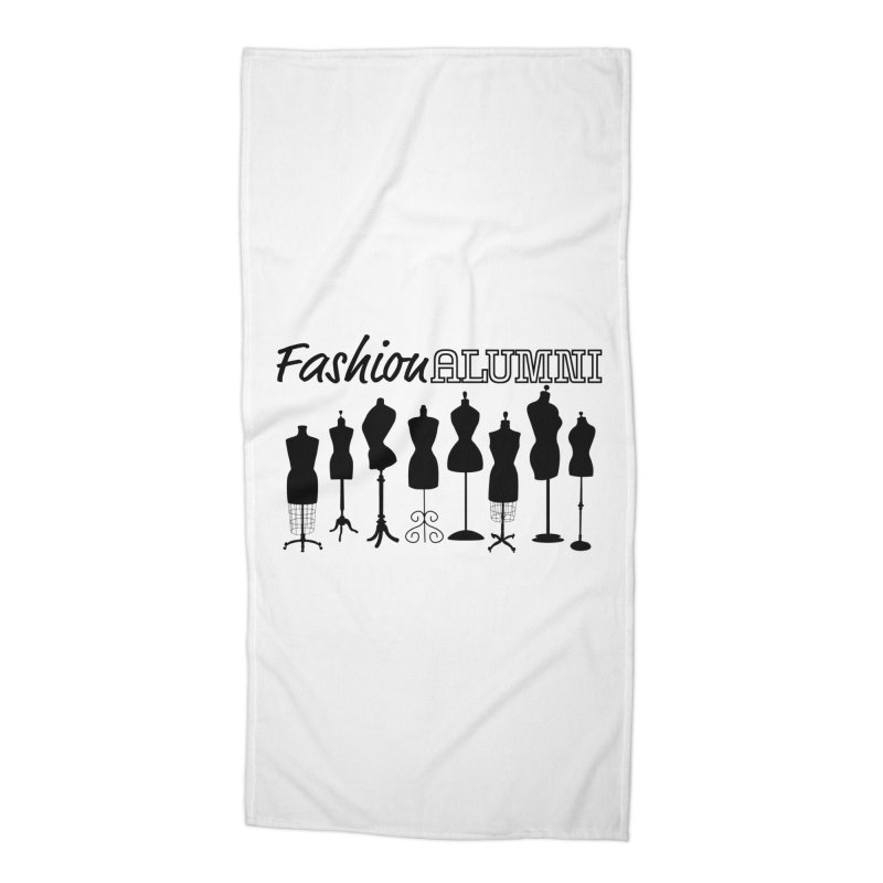 Design Your Freedom Accessories Beach Towel by Fashion Alumni's Artist Shop