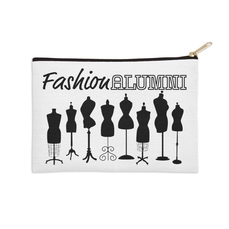 Design Your Freedom Accessories Zip Pouch by Fashion Alumni's Artist Shop
