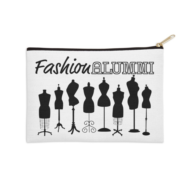 Design Your Freedom Accessories Zip Pouch by Fashion Alumni's Artist Shop