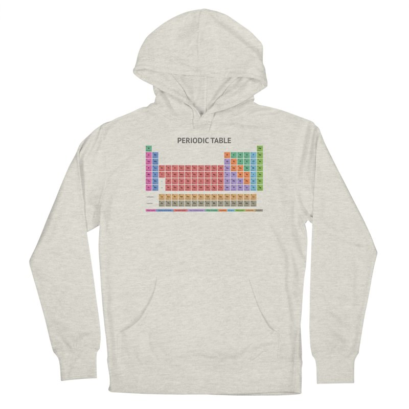 Periodic Table T-shirt (Light) Men's Pullover Hoody by fashioncrimson's Shop