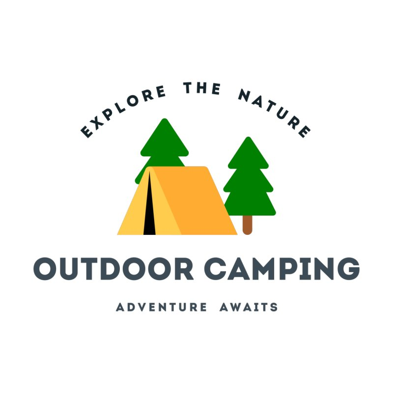 Outdoor Camping Adventure awaits T-shirt Men's T-Shirt by fashioncrimson's Shop
