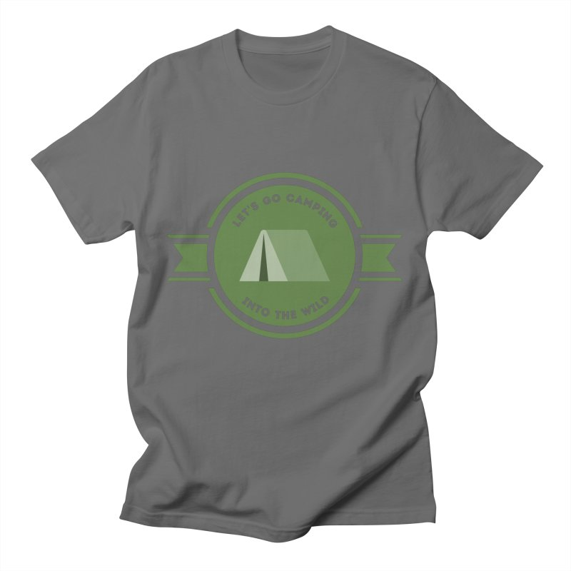 Let's go Camping Into the Wild T-shirt Men's T-Shirt by fashioncrimson's Shop