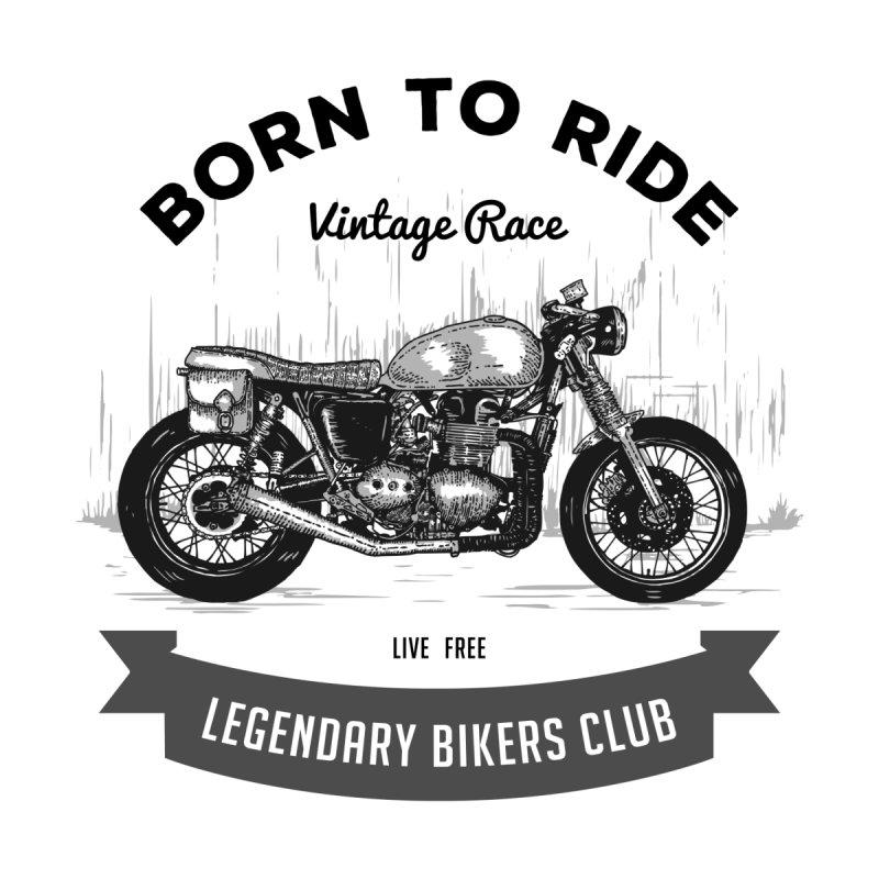 Born to ride Vintage Race T-shirt Men's T-Shirt by fashioncrimson's Shop