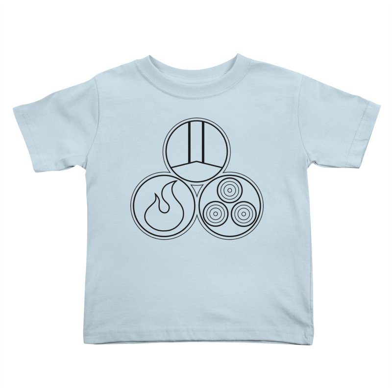 Fat Fueled Family Apparel Kids Toddler T-Shirt by fatfueledfamily's Artist Shop