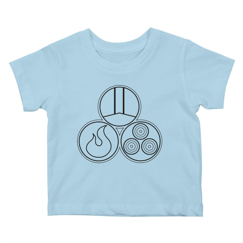 Fat Fueled Family Apparel Kids Baby T-Shirt by fatfueledfamily's Artist Shop