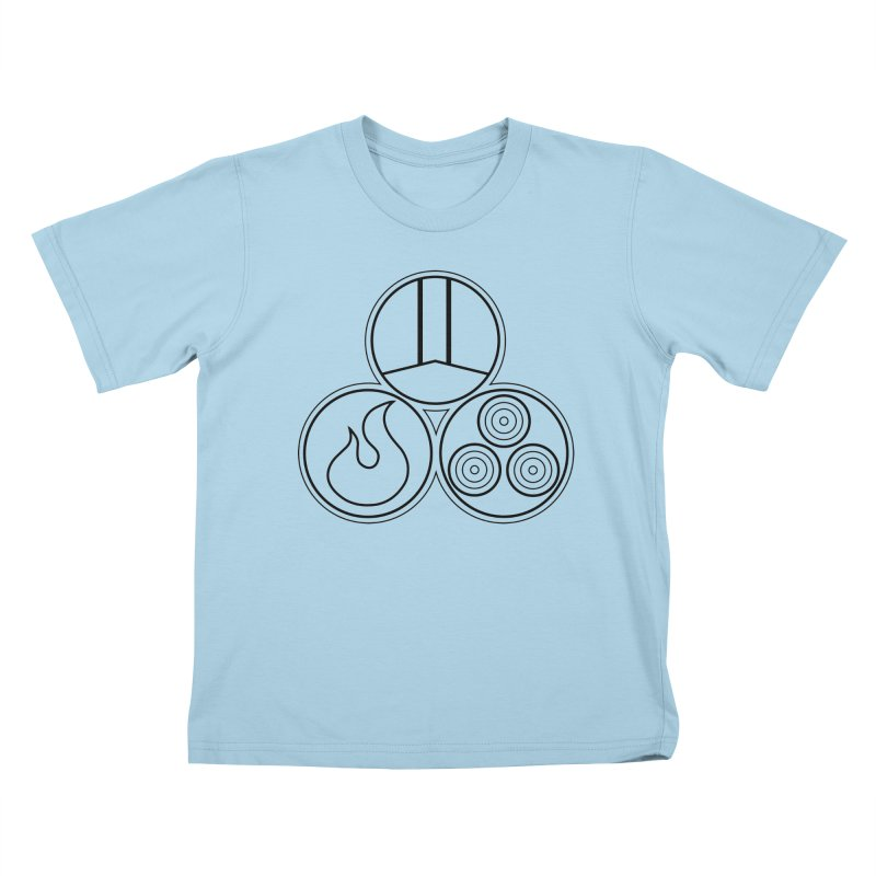 Fat Fueled Family Apparel Kids T-Shirt by Fat Fueled Family's Artist Shop