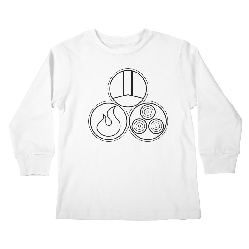 Fat Fueled Family Apparel Kids Longsleeve T-Shirt by fatfueledfamily's Artist Shop
