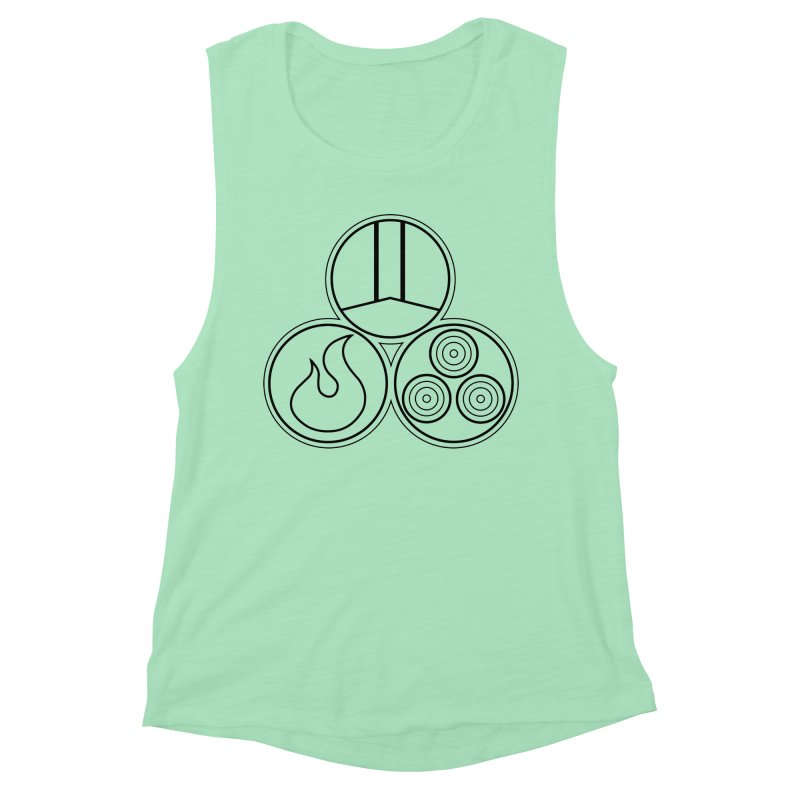 Fat Fueled Family Apparel Women's Muscle Tank by Fat Fueled Family's Artist Shop
