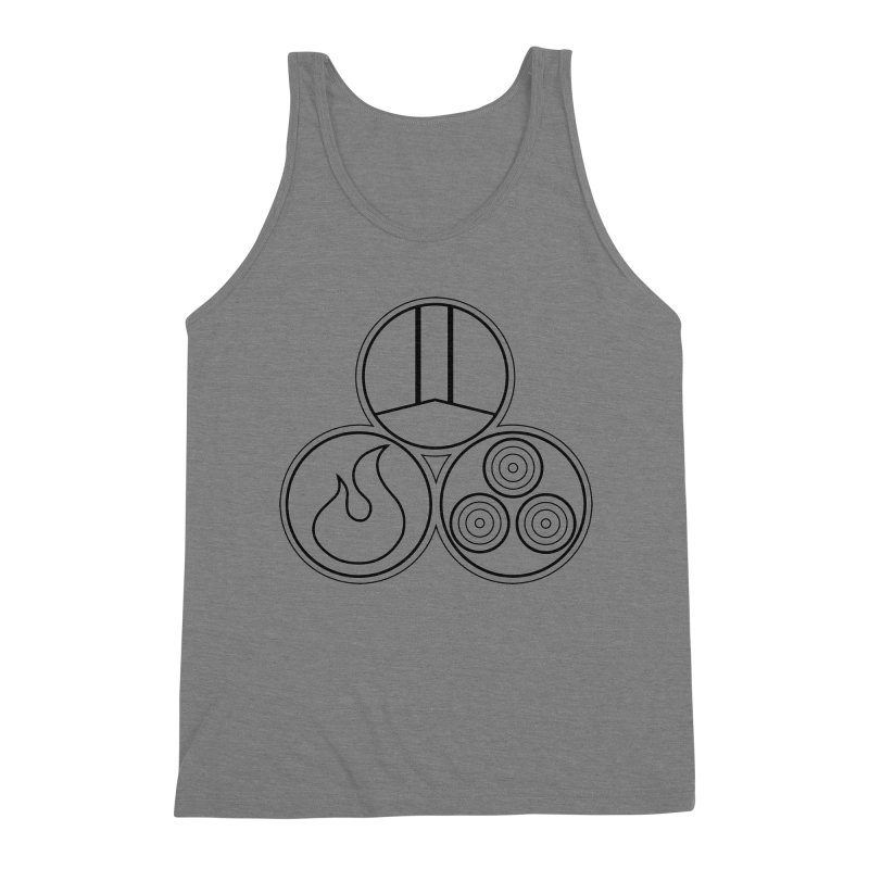 Fat Fueled Family Apparel Men's Triblend Tank by Fat Fueled Family's Artist Shop