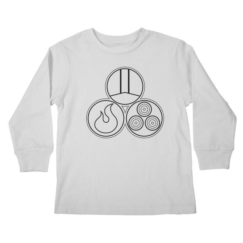 Fat Fueled Family Apparel Kids Longsleeve T-Shirt by Fat Fueled Family's Artist Shop