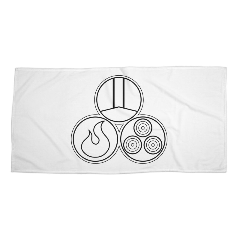 Fat Fueled Family Apparel Accessories Beach Towel by Fat Fueled Family's Artist Shop