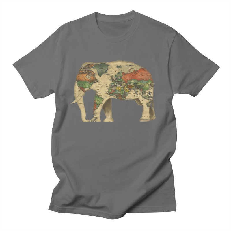 save the elephants Men's T-Shirt by Fathi