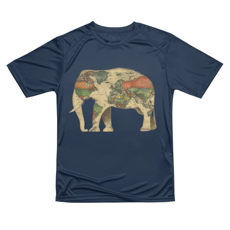 save the elephants Women's Performance Unisex T-Shirt by Fathi