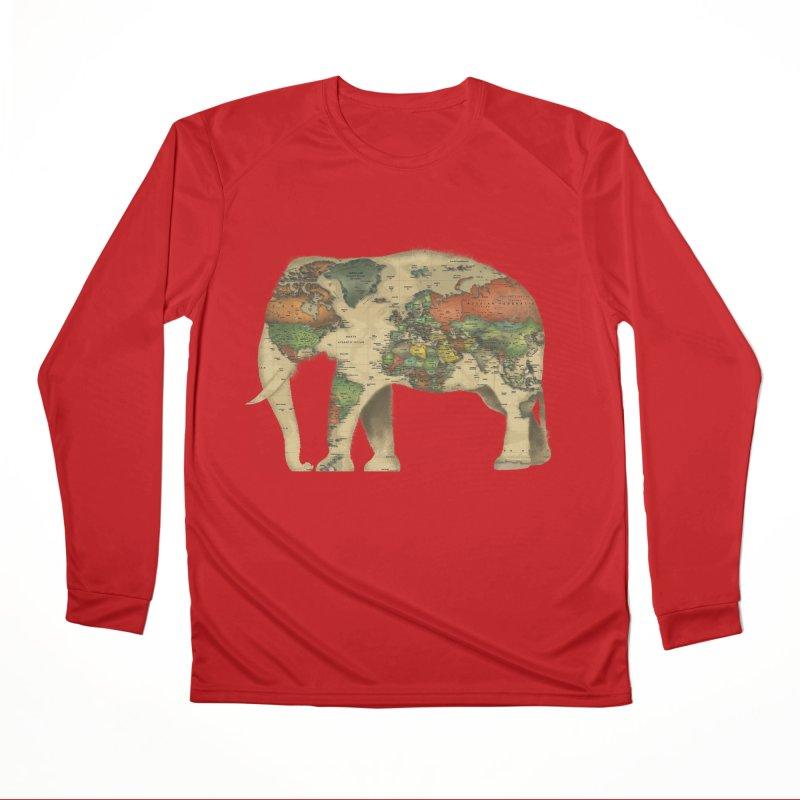 save the elephants Women's Performance Unisex Longsleeve T-Shirt by Fathi